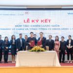 Lễ ký kết hợp tác chiến lược giữa Tổng Công ty Hàng Kênh và Vietinbank chi nhánh Lê Chân