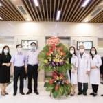 Ấm lòng Kỉ niệm 66 năm ngày Thầy thuốc Việt Nam: Tổng Công ty Hàng Kênh tặng hoa tri ân y bác sĩ Bệnh viện Quốc tế Sản Nhi Hải Phòng