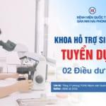 Bệnh viện Quốc tế Sản Nhi Hải Phòng tuyển dụng nhân sự Khoa Hỗ trợ sinh sản